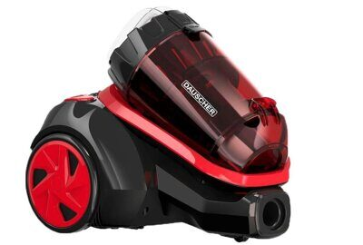 Пылесос DAUSCHER BVC4600 TURBO RED BLACK